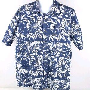Quiksilver Button Up Hawaiian Tropical Shirt 🌺